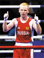 Алексей Тищенко в форме сборной России