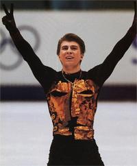 Алексей Ягудин на олимпиаде в Солт-Лейк-Сити
