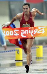 Андрей Моисеев побеждает на олимпиаде в Пекине
