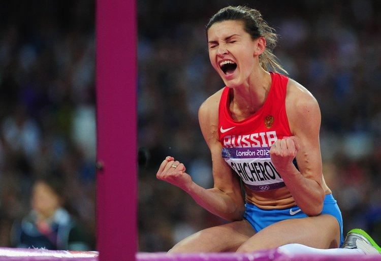 Анна Чичерова на Олимпиаде 2012 года в Лондоне