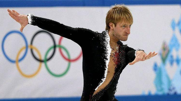 Евгений Плющенко на Олимпиаде-2014