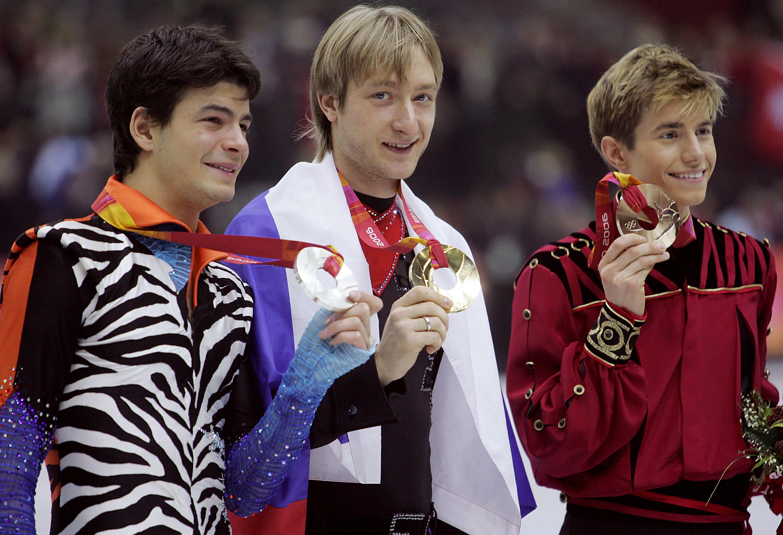Евгений Плющенко на Олимпиаде-2006