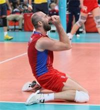 Сергей Тетюхин в составе сборной России побеждает на олимпийских играх в Лондоне