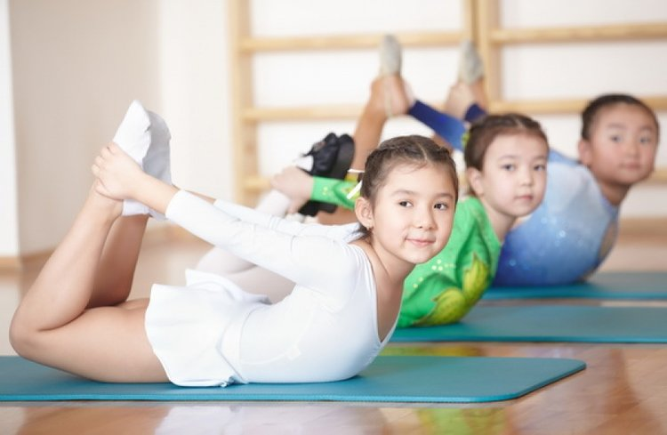 Want to do yoga with the kids?