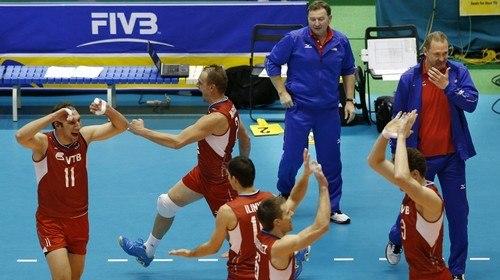 В грядущие выходные сборная России по волейболу проведет матчи со сборной Болгарии