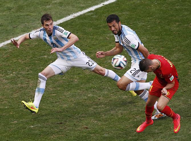 Сборная Аргентины — в полуфинале Чемпионата мира 2014