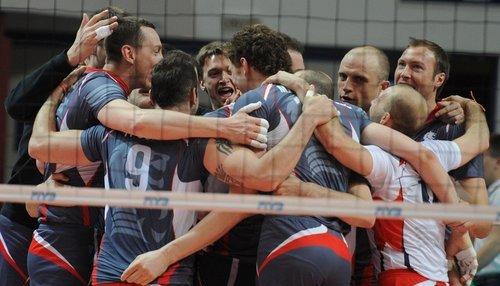 Российские команды в волейбольной Лиге Чемпионов 2014/15