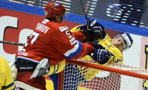 Сборная России по хоккею проиграла по буллитам шведам