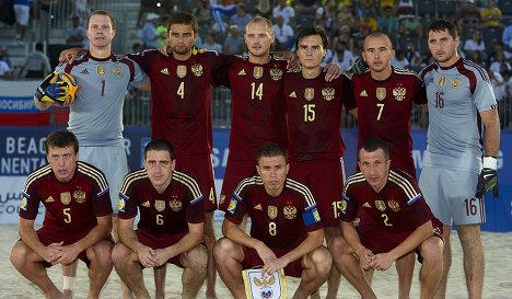 Россия в финале межконтинетального кубка по пляжному футболу
