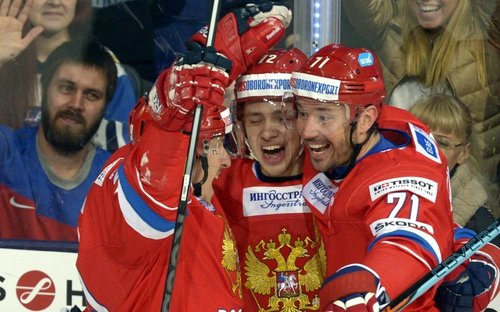 Россия победила Чехию в заключительном матче Кубка Карьяла