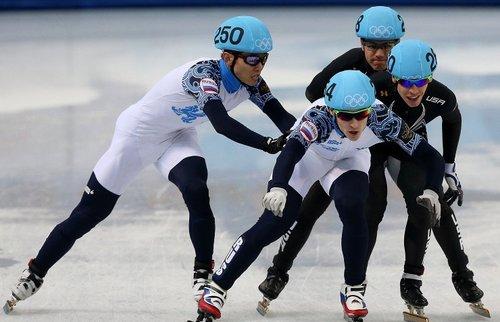 Сборная России победила в эстафете на этапе Кубка мира