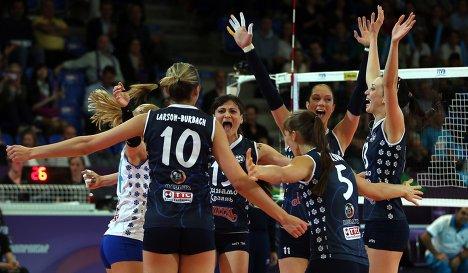 Старт женских российских клубов в Лиге Чемпионов