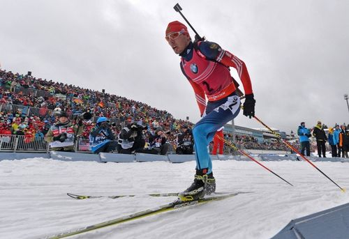 Сборная России заняла третье место в эстафете в Рупольдинге
