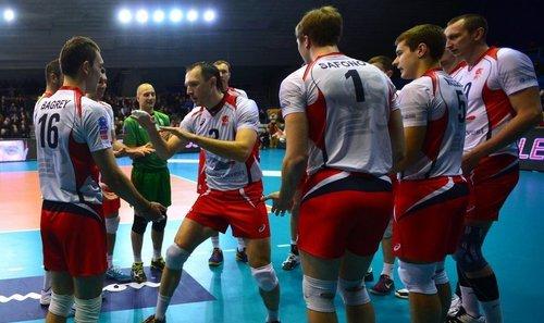 Все три волейбольных клуба из России вышли в плей-офф