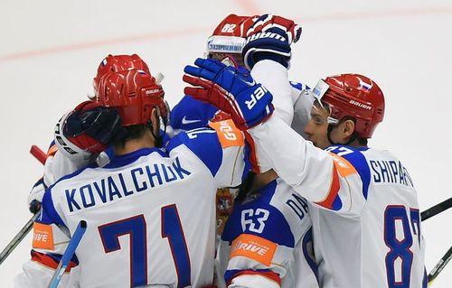 Россия победила Данию