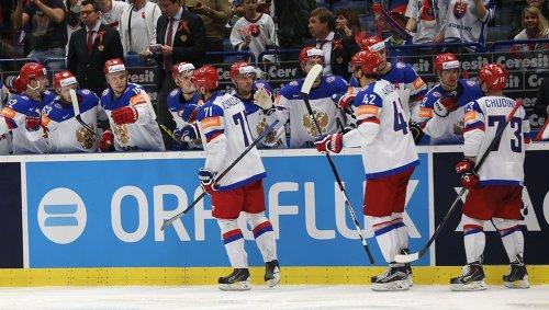 Сборная России уверенно победила Белоруссию