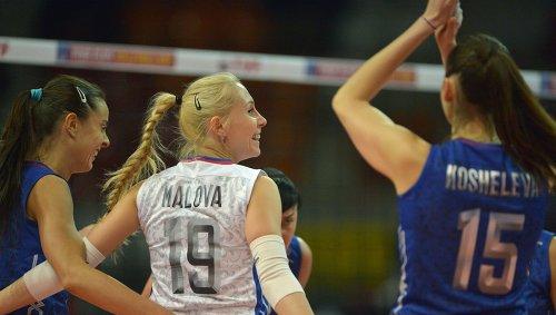 Российские волейболистки победили сборную Польши
