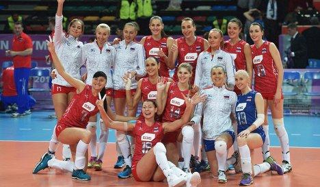 Российские волейболистки победили сборную Италии