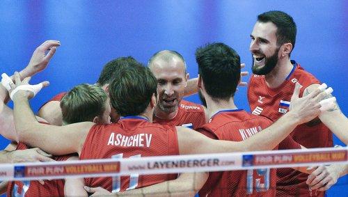 Мужская сборная России по волейболу победила Финляндию на отборе к Олимпиаде-2016