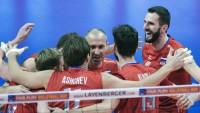Мужская сборная России по волейболу победила Финляндию