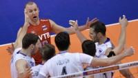 Российские волейболисты победили французов и получили путёвку на Олимпийские игры в Рио-де-Жанейро!