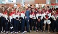 Проводы российской сборной на Олимпиаду в Рио