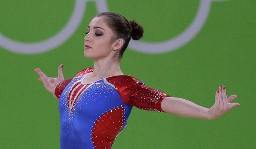 Алия Мустафина — бронза в личном многоборье!