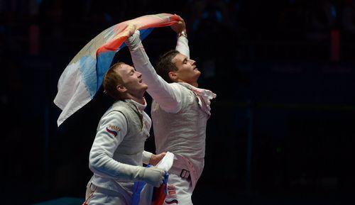 Российские рапиристы — олимпийские чемпионы!