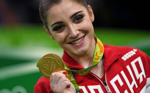 Мустафина — двукратная олимпийская чемпионка!