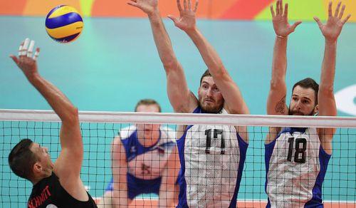 Российские волейболисты вышли в полуфинал Олимпиады-2016