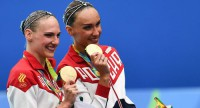 Ищенко и Ромашина будут знаменосцами сборной России на церемонии закрытия Олимпиады-2016