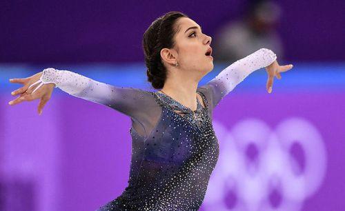 Евгения Медведева установила мировой рекорд в короткой программе на Олимпиаде-2018!