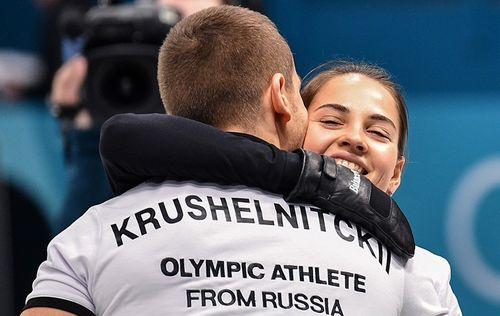 Брызгалова и Крушельницкий — бронзовые призёры в дабл-миксте!
