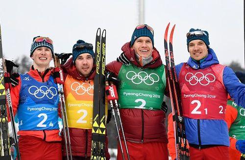 Россия — серебряный призёр в мужской лыжной эстафете!