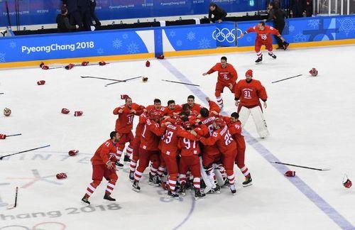 Российские хоккеисты — чемпионы Олимпийских игр!
