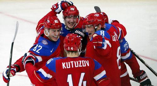Сборная России победила Латвию и вышла в четвертьфинал