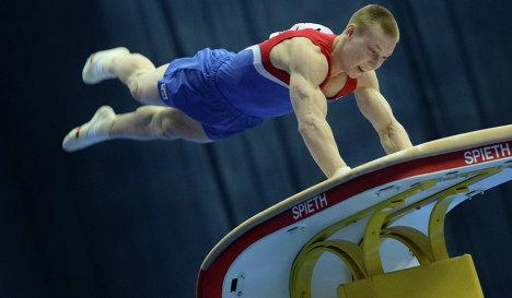 Денис Аблязин завоевал четыре золота чемпионата Европы по спортивной гимнастике