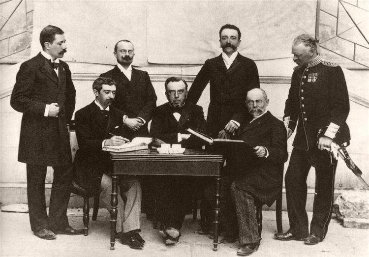 Первый состав Международного олимпийского комитета