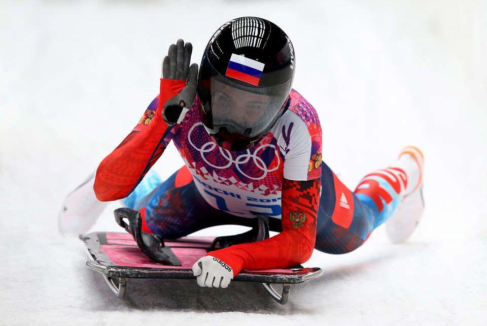 Skeleton sport women